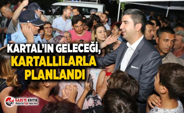 """YÜZLERCE KARTALLI """"MAHALLEMİ DİNLİYORUM"""" TOPLANTILARINDA BULUŞTU"""