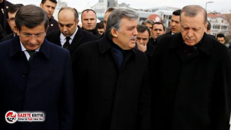 AK Parti'den Abdullah Gül ve Ahmet Davutoğlu sansürü