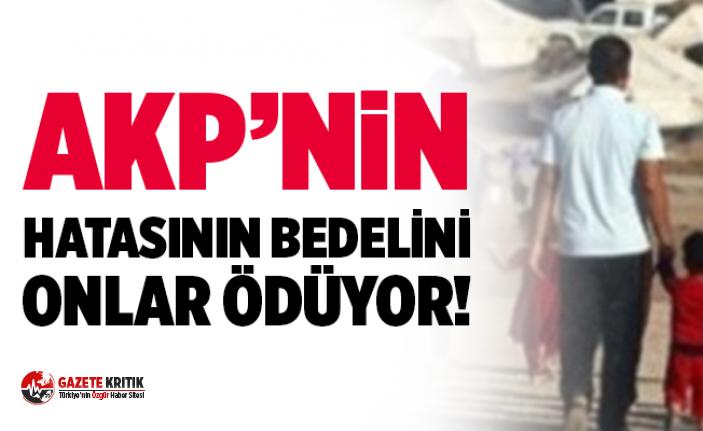 ''AK Parti'nin hatasının bedelini onlar ödememeli''