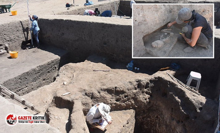 Anadolu'nun ilk şehir yapılanması ortaya çıkarıldı... 5 bin yıllık insan iskeletleri bulundu