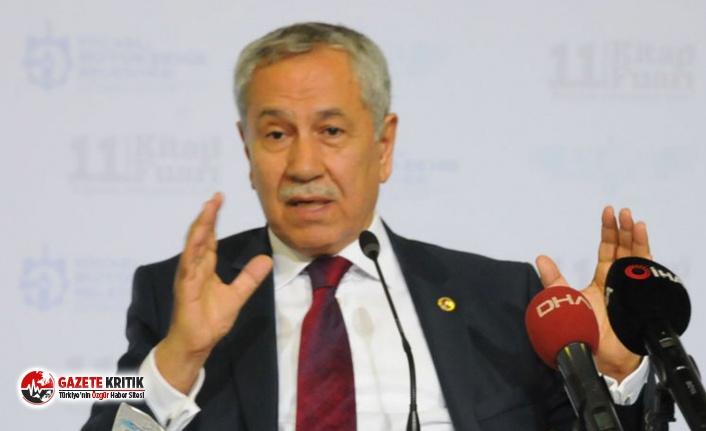 Arınç'tan Gül, Babacan ve Davutoğlu'na: İktidar olma şansları yok, yüzde 1'i hedefliyorlarsa...