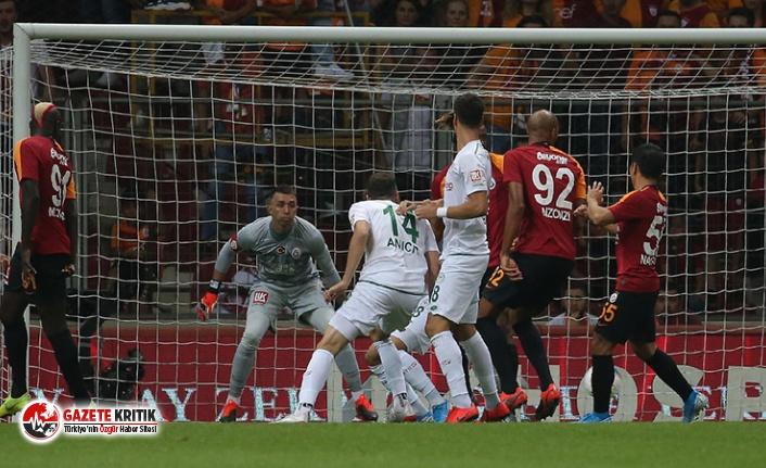 Aslan son dakikada yıkıldı; Galatasaray 1-1 Konyaspor
