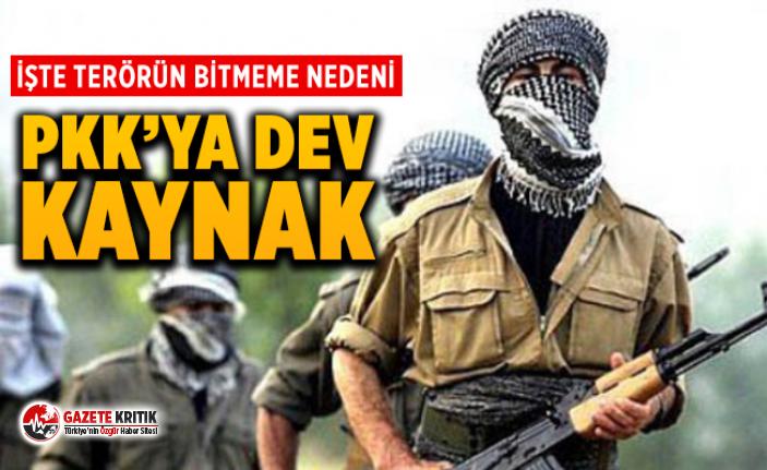 Avrupa'dan PKK'ya yılda 25 milyon Euro