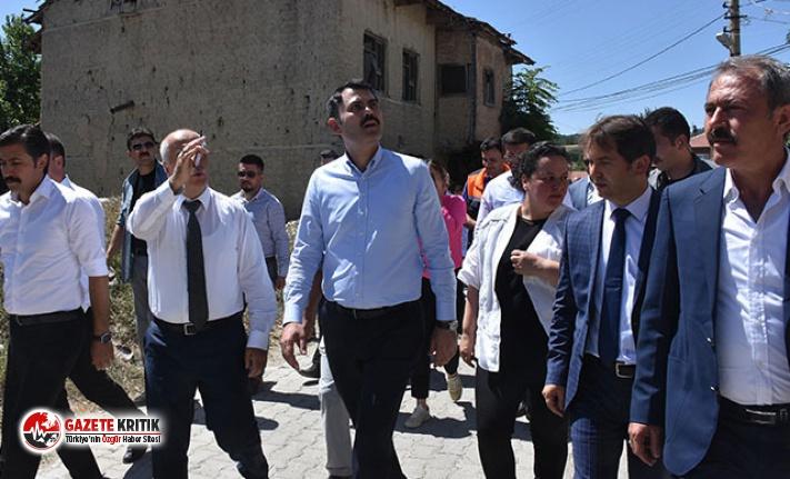 Bakan Kurum'dan deprem açıklaması: Denizli'de 250 konut inşaatını başlatıyoruz