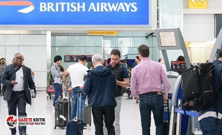 British Airways, 60'tan fazla uçuşunu iptal etti, 100'den fazla uçuşta gecikme yaşandı