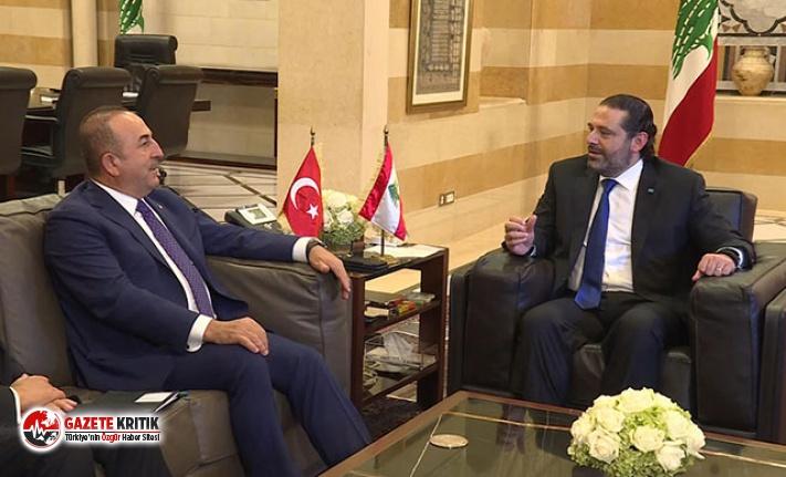 Çavuşoğlu, Lübnan Başbakanı Saad Hariri ile görüştü