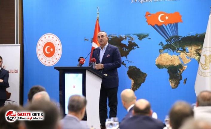 Çavuşoğlu'ndan 'güvenli bölge' açıklaması: Münbiç gibi olmayacak