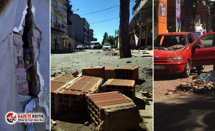 Çevre ve Şehircilik Bakanı Kurum: Denizli'deki depremde 976 binanın 108'i ağır hasarlı, 250 yeni konut yapılacak