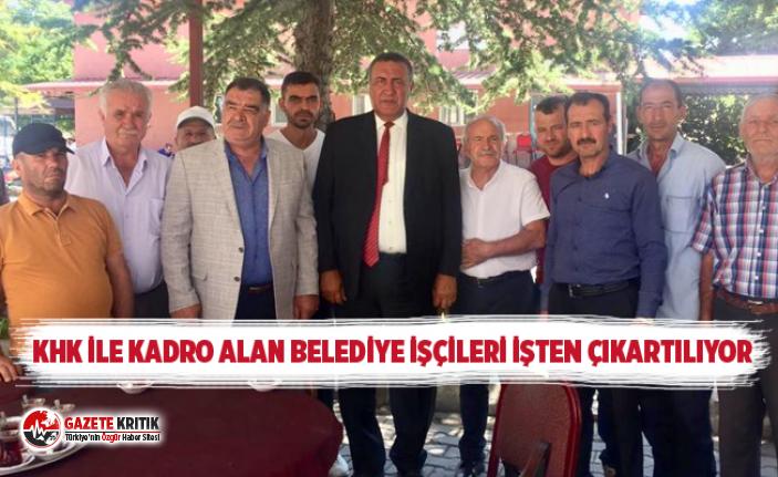 CHP Milletvekili Ömer Fethi Gürer, işten çıkarılan belediye işçilerinin sesi oldu