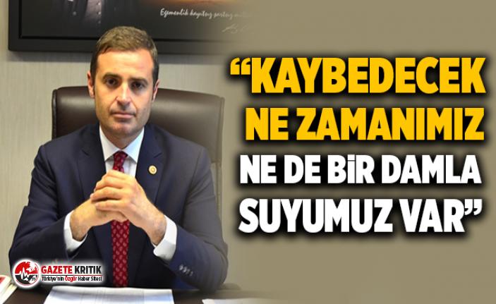 """CHP'Lİ AHMET AKIN: """"GÖNEN ÇAYI SİYASET ÜSTÜDÜR. BU SU HEPİMİZİN SUYU"""""""