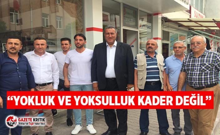 CHP'li Gürer, ilçe, kasaba ve köy gezilerine hız kesmeden devam ediyor
