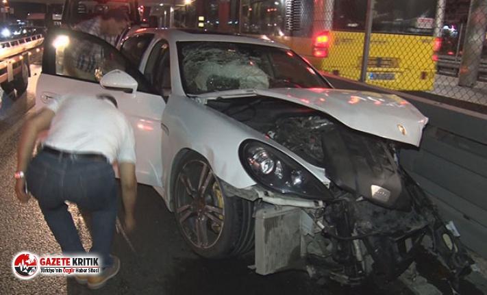 D-100 Karayolu'nda feci kaza! Polis her yerde taksi şoförünü arıyor