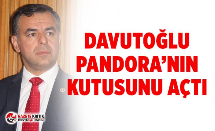 'Davutoğlu Pandora'nın Kutusu'nu açtı'