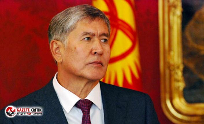 Eski Kırgızistan Cumhurbaşkanı Atambayev'e operasyon
