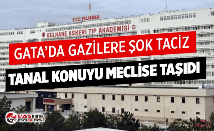 GATA'DA GAZİLERE ŞOK TACİZ!