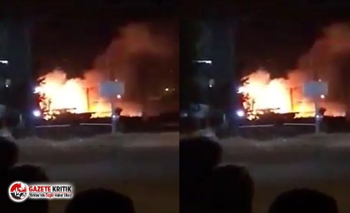Hatay Reyhanlı'da mühimmat deposunda patlama: Evler tahliye edildi