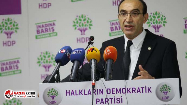 HDP: İlk fırsatta Meclis'i olağanüstü toplantıya çağıracağız