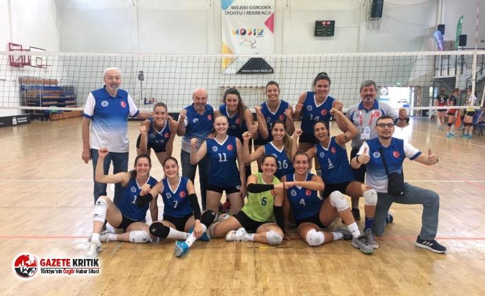 İAÜ Kadın Voleybol Takımı Avrupa 2'ncisi oldu