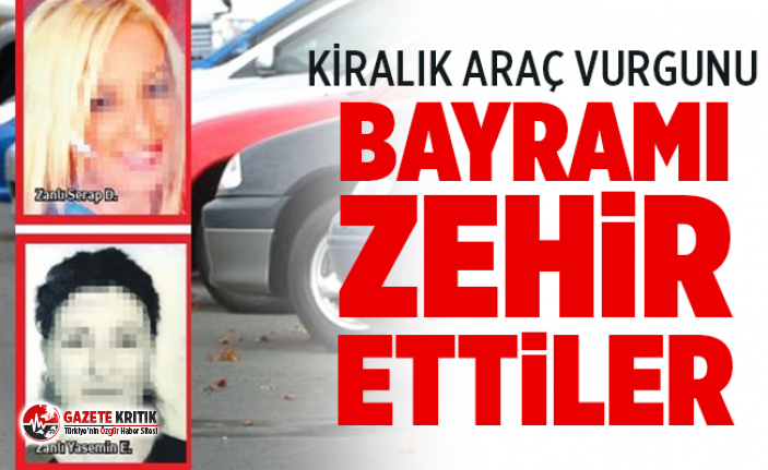İstanbul'da kiralık araç vurgunu ! Bayramı zehir ettiler
