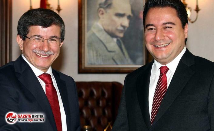 İşte son ankete göre Ali Babacan ve Ahmet Davutoğlu'nun partilerinin oy oranları