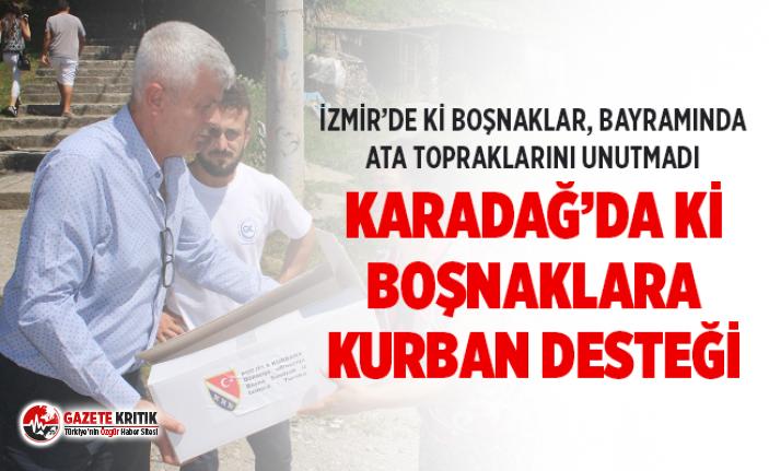 İzmir Bosna Sancak Derneğinden Karadağ'da ki Boşnaklara kurban desteği