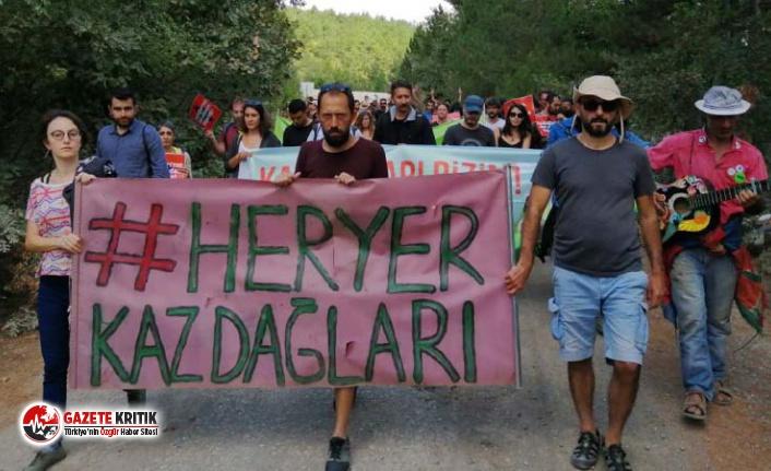"""Kaz Dağları'nda """"Yaşam için Barış"""" festivali"""