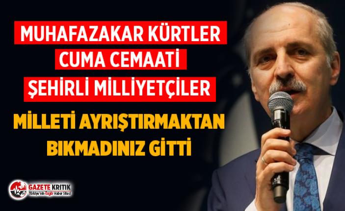 Kurtulmuş: Muhafazakar Kürtlerden, cuma cemaatinden, şehirli milliyetçilerden oy kaybettik