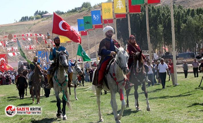 Malazgirt Zaferi'nin 948'inci yılı nedeniyle düzenlenen Ahlat-Avrasya Kültür şenlikleri başladı