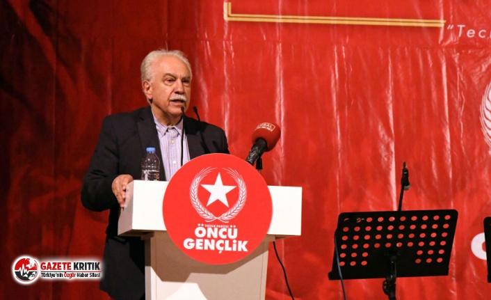 Perinçek: Abdullah Gül, Ahmet Davutoğlu ve Ali Babacan FETÖ'nün siyasi ayağıdır
