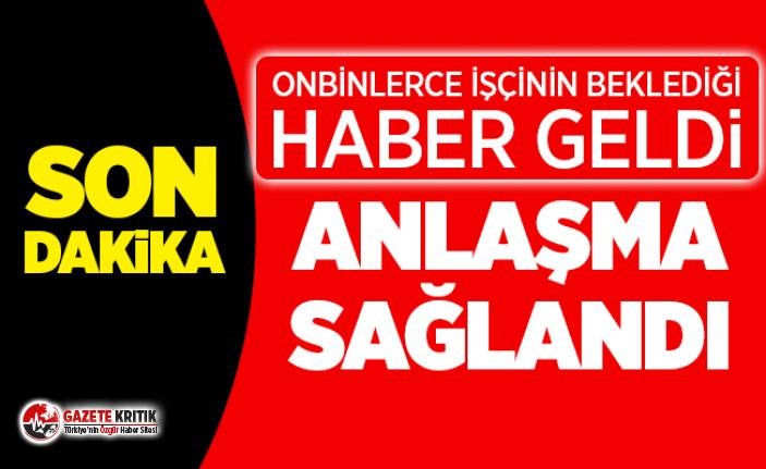 SON DAKİKA... Hükümet ile Türk-İş toplu iş sözleşmesi üzerinde anlaştı