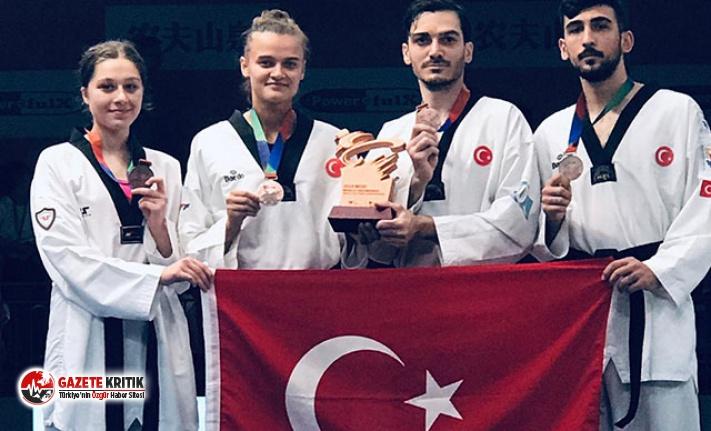 Taekwondoda bronz madalya