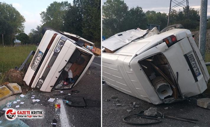 2 kişinin yaralandığı kazada kaçan sürücüye 2 bin 858 TL para cezası