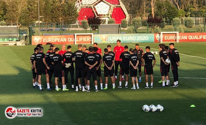 A Milli Takım'da Andorra ve Moldova maçlarının hazırlıkları başladı