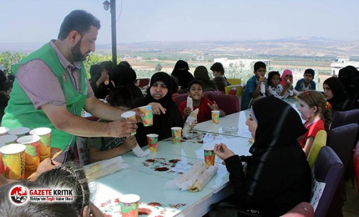 Afrin'de çocuklar için 'Yaza Veda' şenliği