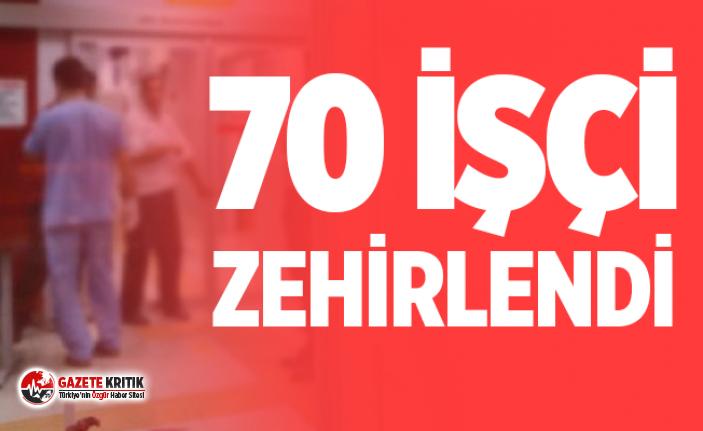 Ankara'da 'gıda zehirlenmesi': 70 işçi hastaneye başvurdu