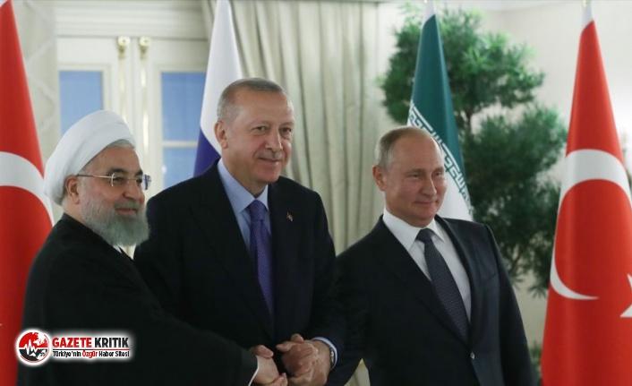 Ankara'da üçlü Suriye zirvesi | Ruhani: Bazılarının peşinde olduğu yönetimi değiştirme yaklaşımı geçerliliğini yitirdi