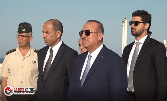 Çavuşoğlu, Kapalı Maraş'ı gezdi
