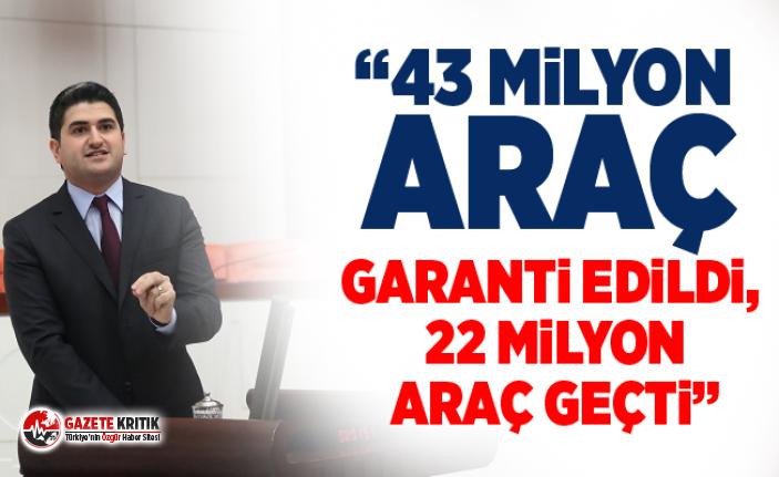 """CHP'li Onursal Adıgüzel,:""""3 Yılda Garanti Edilen Aracın Yalnızca Yüzde 51'i Geçti"""""""