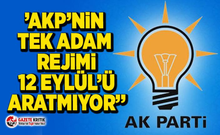 CHP'Lİ SÜLEYMAN BÜLBÜL:''AKP'NİN TEK ADAM REJİMİ 12 EYLÜL'Ü ARATMIYOR''