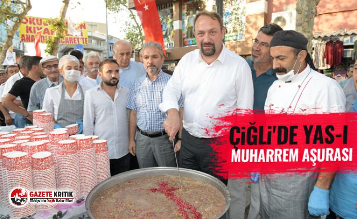 Çiğli'de Yas-ı Muharrem Aşurası