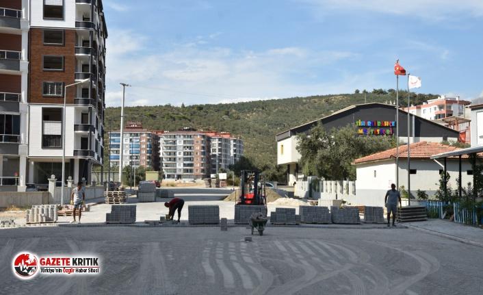 Edremit Belediyesi yol çalışmalarına hız verdi