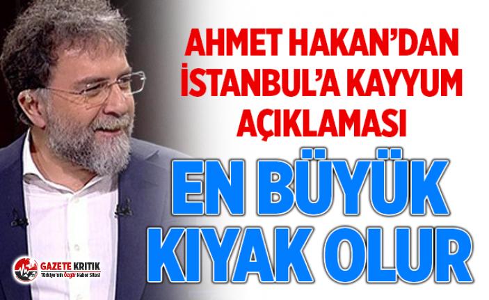 Hakan: Bırakın İstanbul'a kayyum atamayı, bunu akıldan geçirmek bile İmamoğlu'na yapılan kıyakların en büyüğü olur