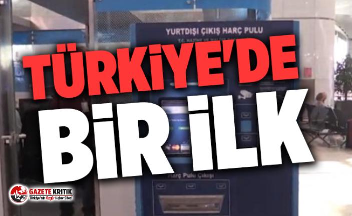 İstanbul Havalimanı'na konuldu! Türkiye'de bir ilk...