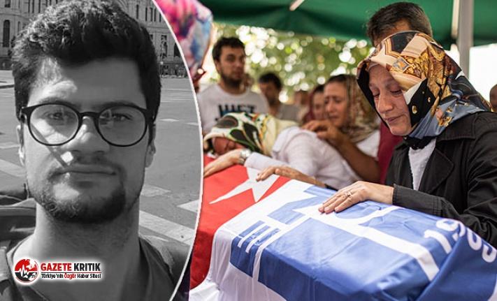 İstiklal Caddesi'nde öldürülen İTÜ'lü genç son yolculuğuna uğurlandı