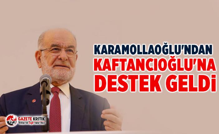 Karamollaoğlu'ndan Kaftancıoğlu'na destek geldi