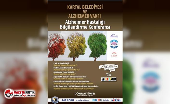 Kartal Belediyesi'nden Alzheimer Hastalığı Bilgilendirme Konferansı