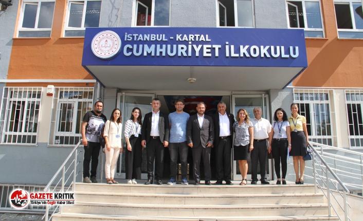 Kartal Belediyesi'nden Minik Öğrencilere, Çanta ve Kırtasiye Desteği