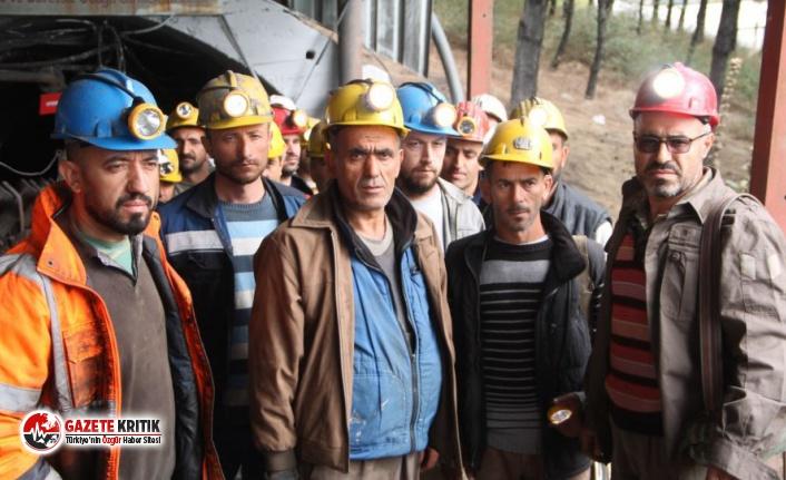 Maden işçileri, yer altında açlık grevine başladı
