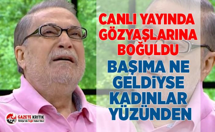 Mehmet Ali Erbil canlı yayında gözyaşlarına boğuldu