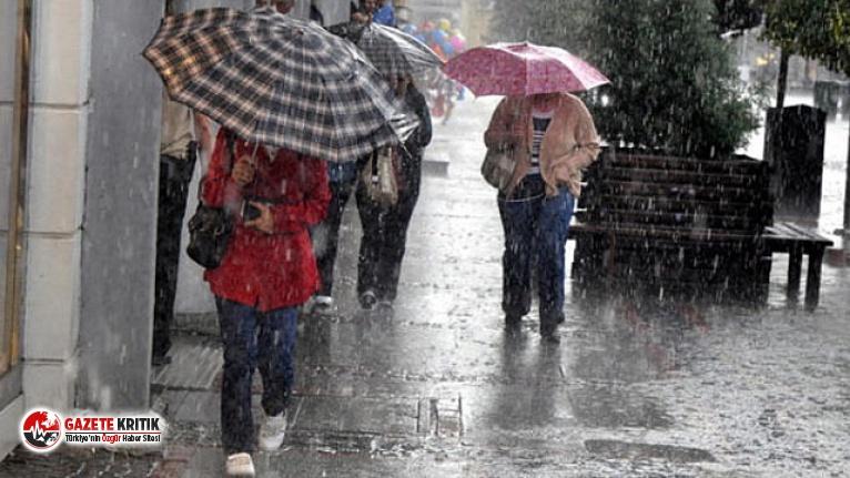 Meteoroloji'den yeni yağış uyarısı ! İstanbul için saat verildi